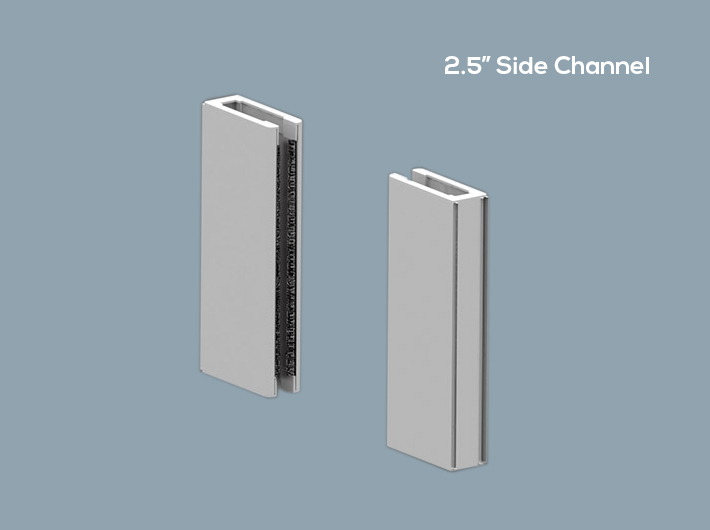2 5 Side Channel Wt Shade