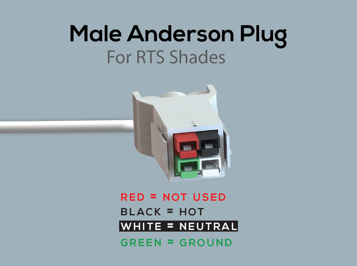 RTS 120V Line Voltage - WT Shade